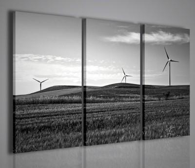Quadri Moderni-Quadri Natura e Paesaggi-Colline al vento