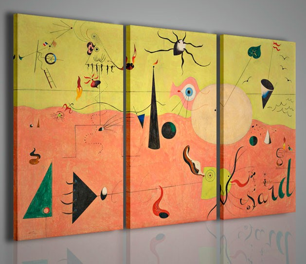Quadri Moderni-Quadri Pittori Famosi-Joan Mirò II | artcanvas2011