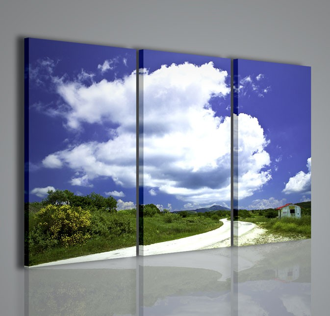 Quadri moderni quadri natura e paesaggi green island for Quadri da arredamento moderno