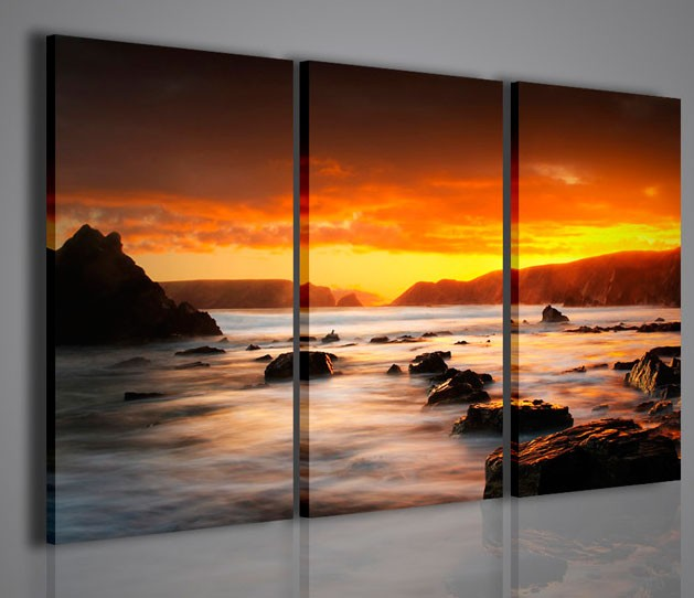 Quadri moderni quadri natura e paesaggi gran paradise for Quadri parete soggiorno