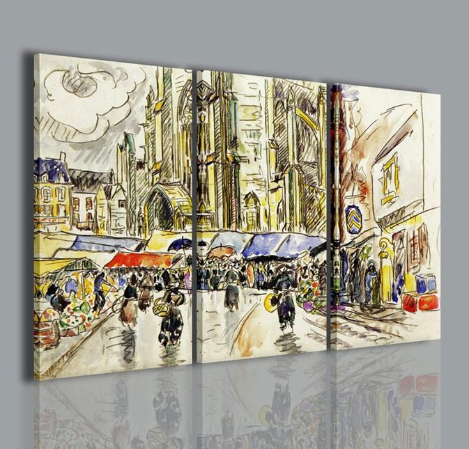 Quadri Moderni-Quadri Pittori Famosi-Paul Signac III | artcanvas2011