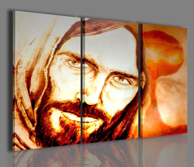 Quadri Moderni-Quadri Religiosi-Gesù La Speranza | artcanvas2011
