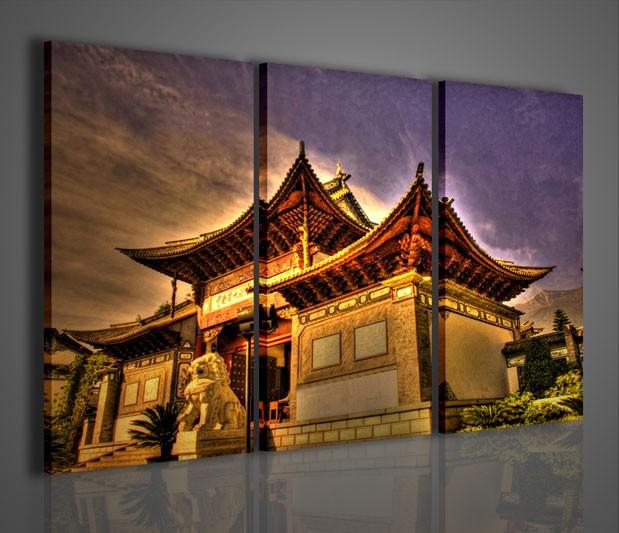 Quadri moderni quadri citt architettura cinese for La citta con il museo van gogh