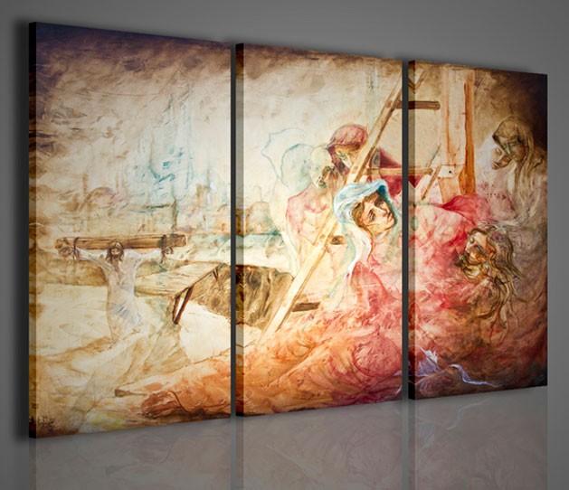 Quadri Moderni-Quadri Religiosi-Il Cristo | artcanvas2011