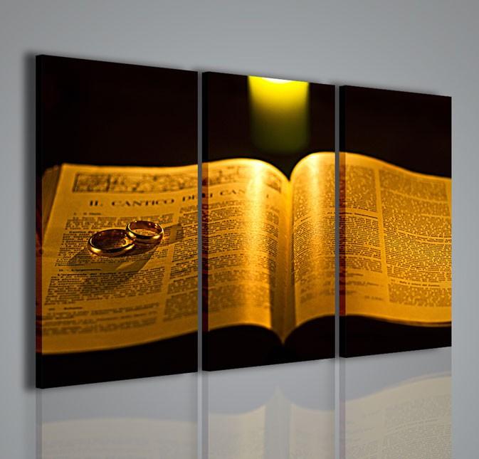Quadri Moderni-Quadri Religiosi-The Bible II   artcanvas2011