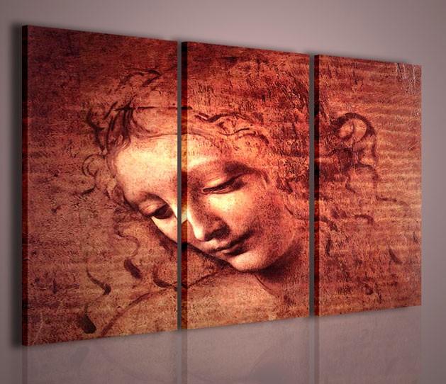 Quadri moderni quadri pittori famosi leonardo da vinci for Quadri astratti famosi
