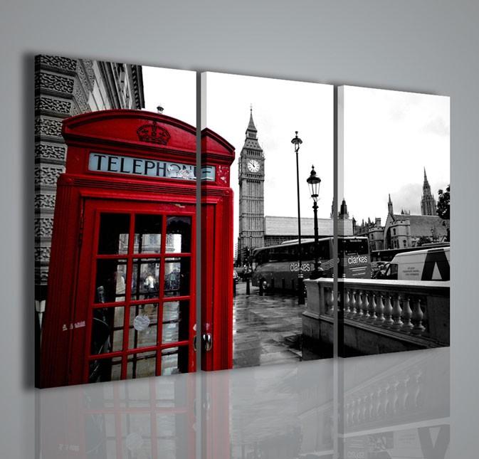 Quadri moderni quadri citt london telephone ii for Idee quadri moderni