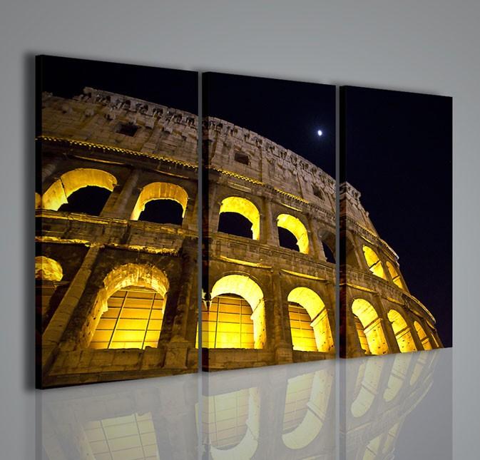 Quadri moderni quadri citt colosseo i artcanvas2011 for La citta con il museo van gogh