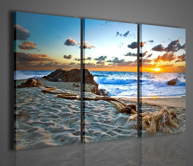 Quadri moderni quadri natura e paesaggi tramonto a tropea i artcanvas2011 - Ikea stampe e quadri ...