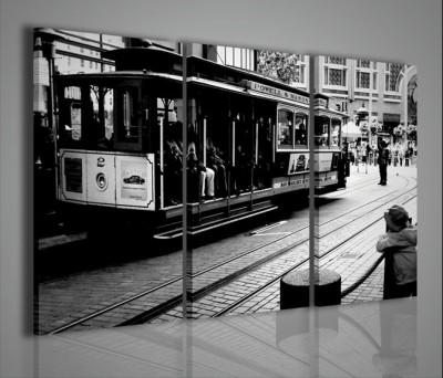Quadri Moderni-Quadri Città-San Francisco black and white