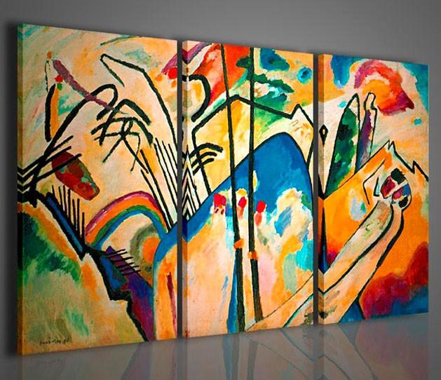 Quadri moderni quadri pittori famosi kandisky iv for Amazon quadri