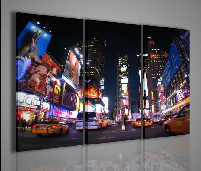 Quadri Moderni-Quadri Città-New York Times Square I | artcanvas2011