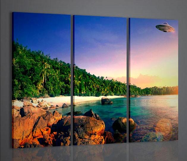 Quadri moderni quadri natura e paesaggi ufo abstract for Ebay quadri