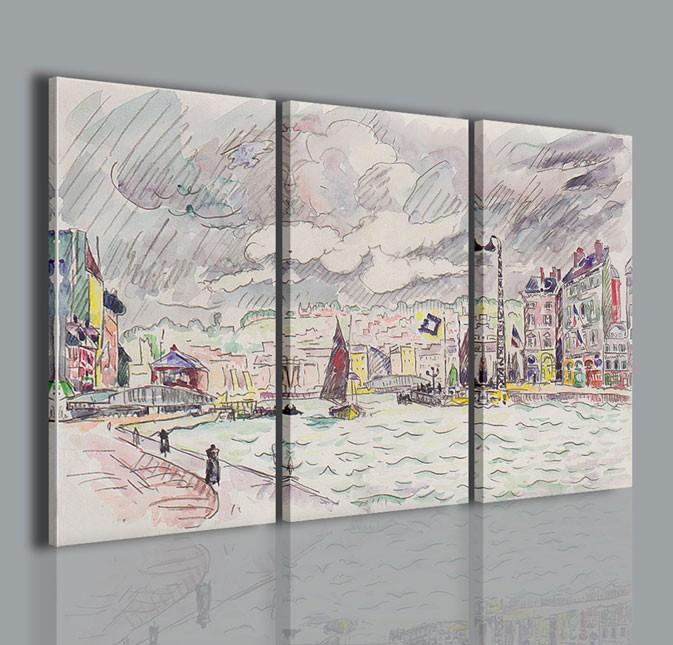 Quadri moderni quadri pittori famosi paul signac i for Stampe arredo casa