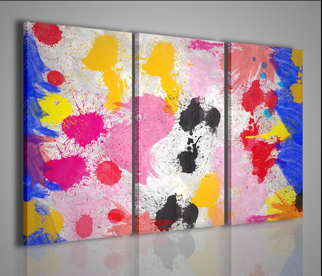 Quadri moderni quadri astratti abstract splash artcanvas2011 for Stampe arredamento moderno