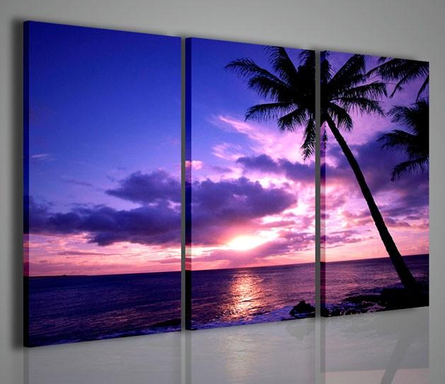 Quadri moderni quadri natura e paesaggi tahiti polinesia for Ebay quadri